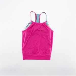 IVIVVA Girl's Pink Tank Top